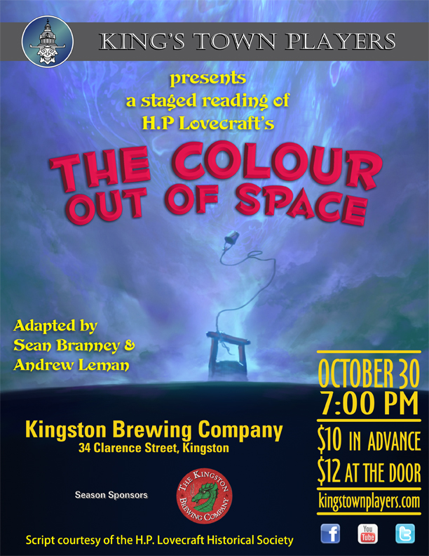 KTP Colour out of Space Poster Small