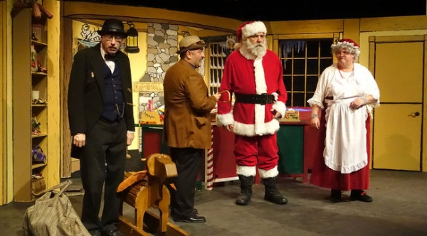 Santa Claus: The Panto, a King's Town Players production, continues until Dec. 6 at Convocation Hall at Queen's University's Theological Hall.